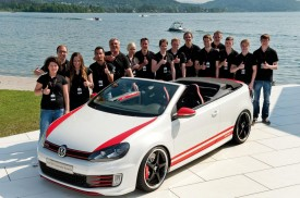 Volkswagen Golf GTI Cabrio Austria concept debuts at Wrthersee