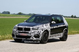 2014 BMW X5 M spied less disguised