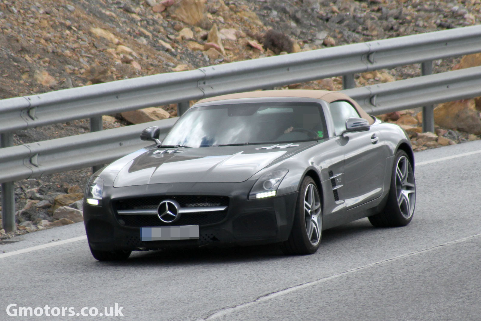 2014 Mercedes SLS AMG GT Roadster facelift