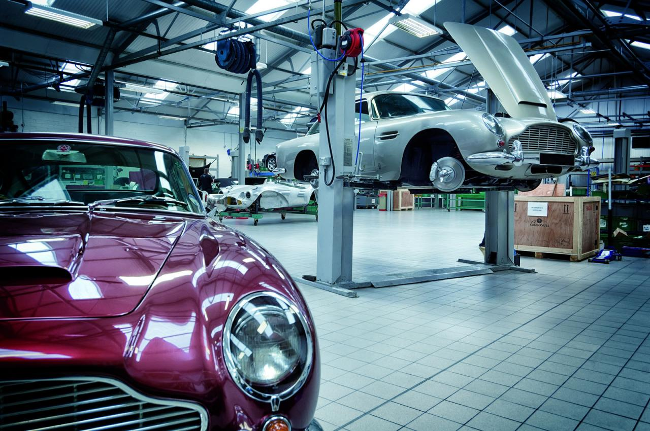 Aston Martin Heritage workshop