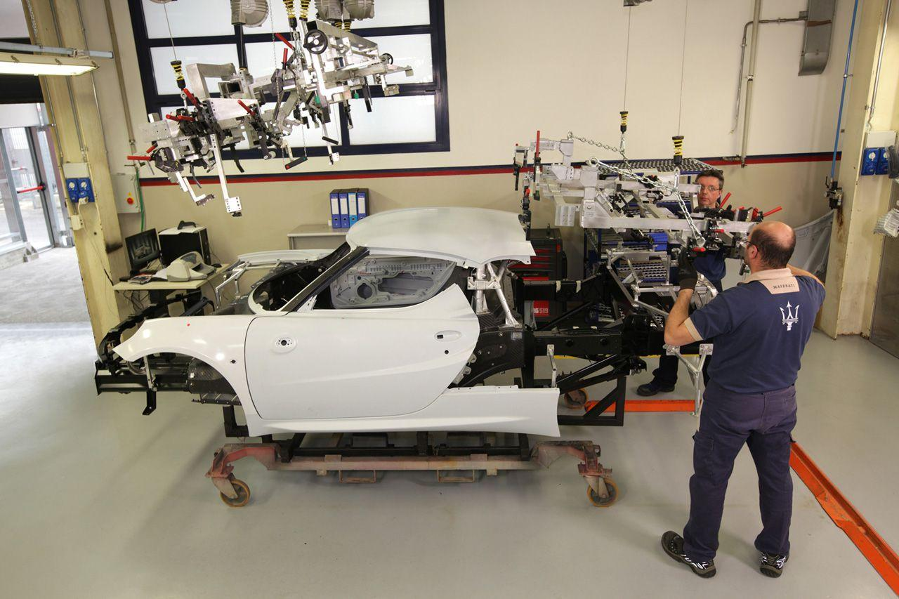 Alfa Romeo 4C construction 8