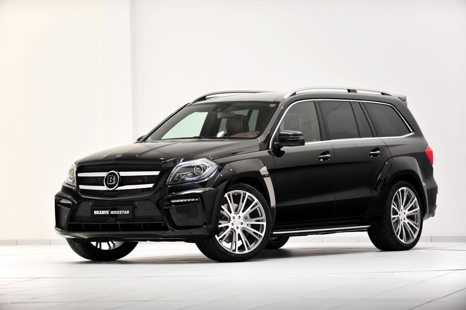 BRABUS B63 - 620 WIDESTAR based on Mercedes GL 63 AMG