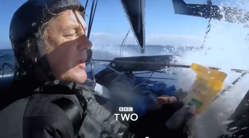 James May sailing