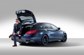 Mercedes CLS 63 AMG Shooting Brake by Spencer Hart debuts at London Collections