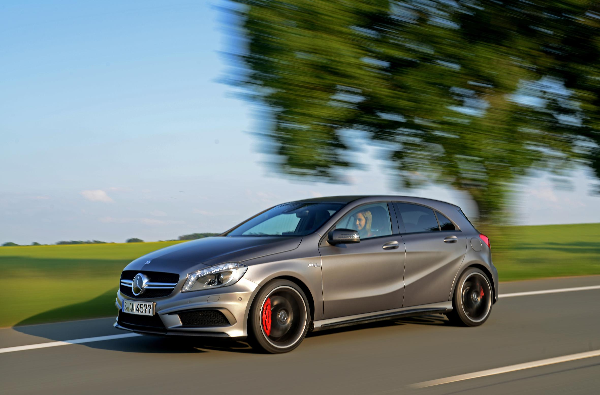 New Mercedes-Benz A 45 AMG