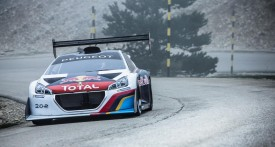 Peugeot 208 T16 starts testing at Pikes Peak [video]