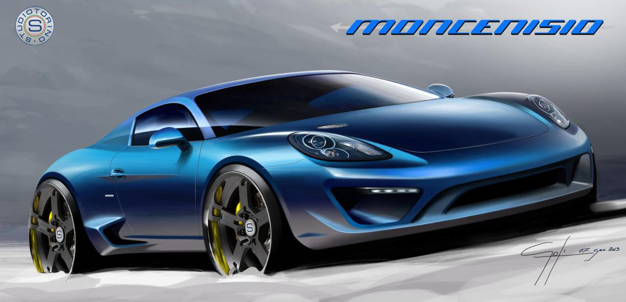 StudioTorino Moncenisio based on the Porsche Cayman S