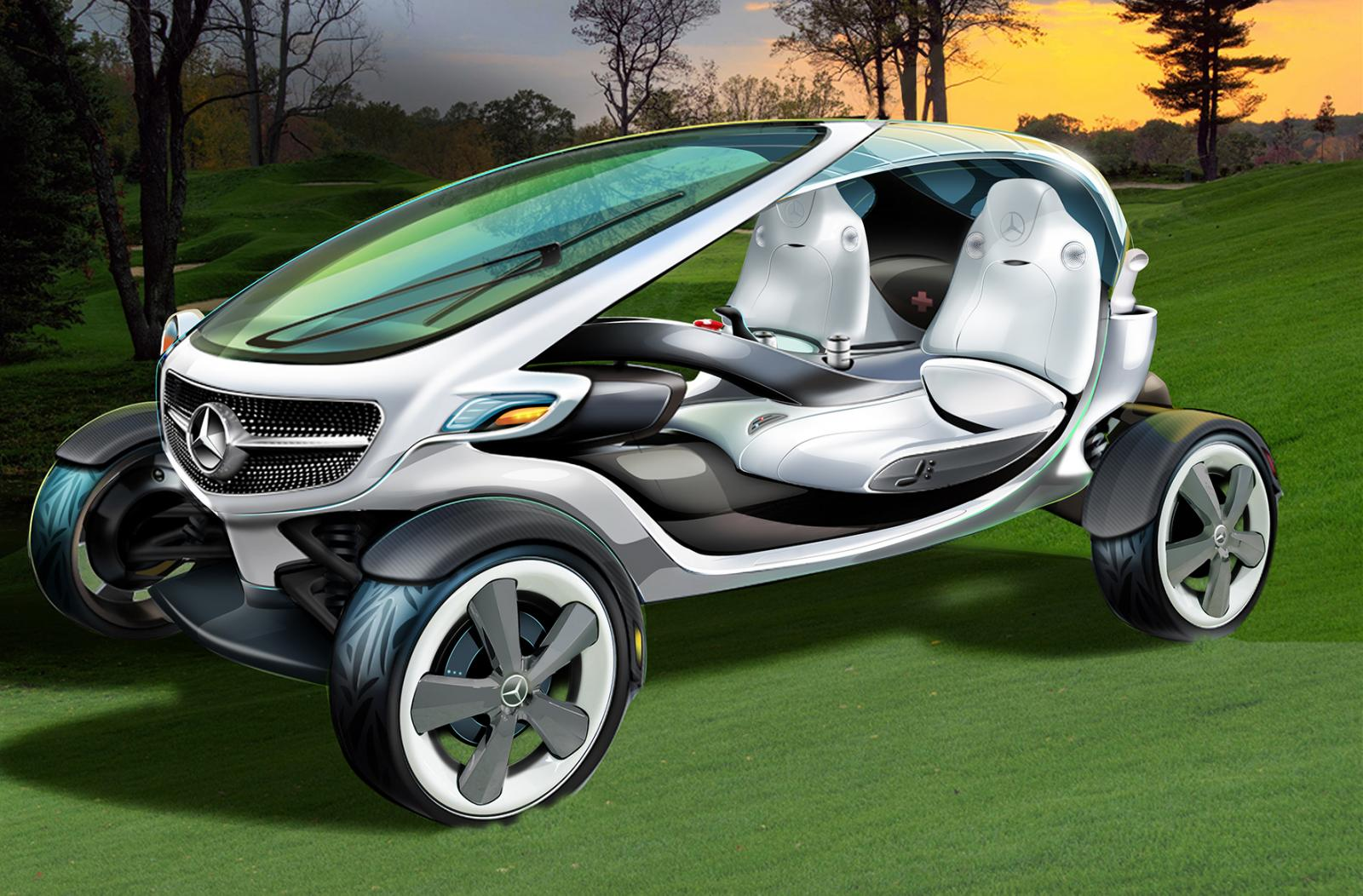 2013 Mercedes-Benz Vision Golf Cart
