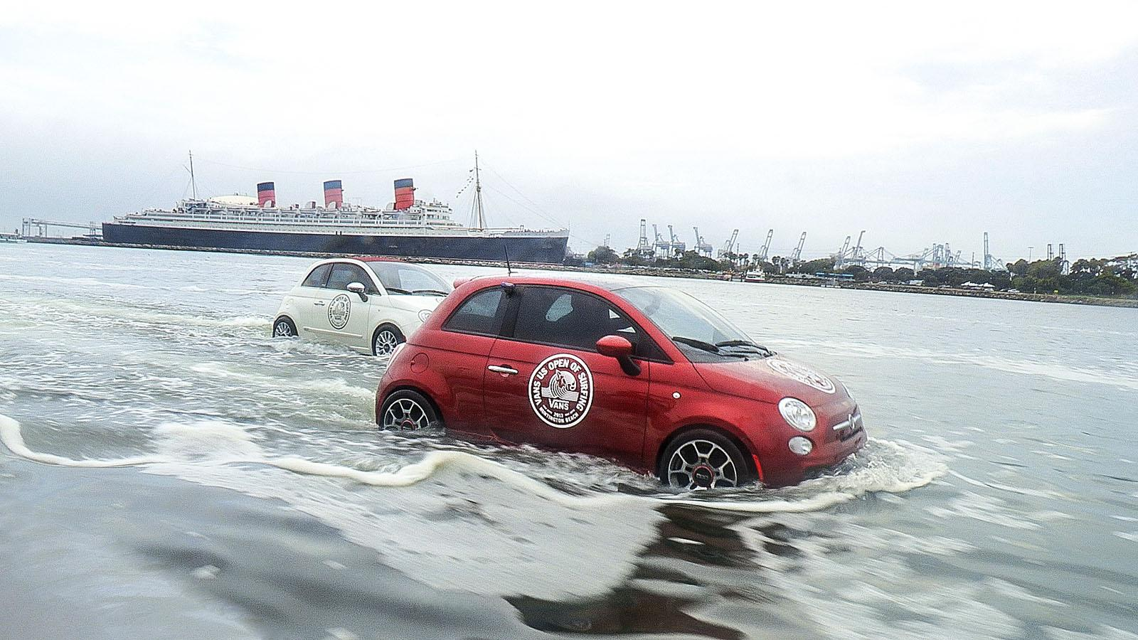 Fiat 500 personal watercrafts