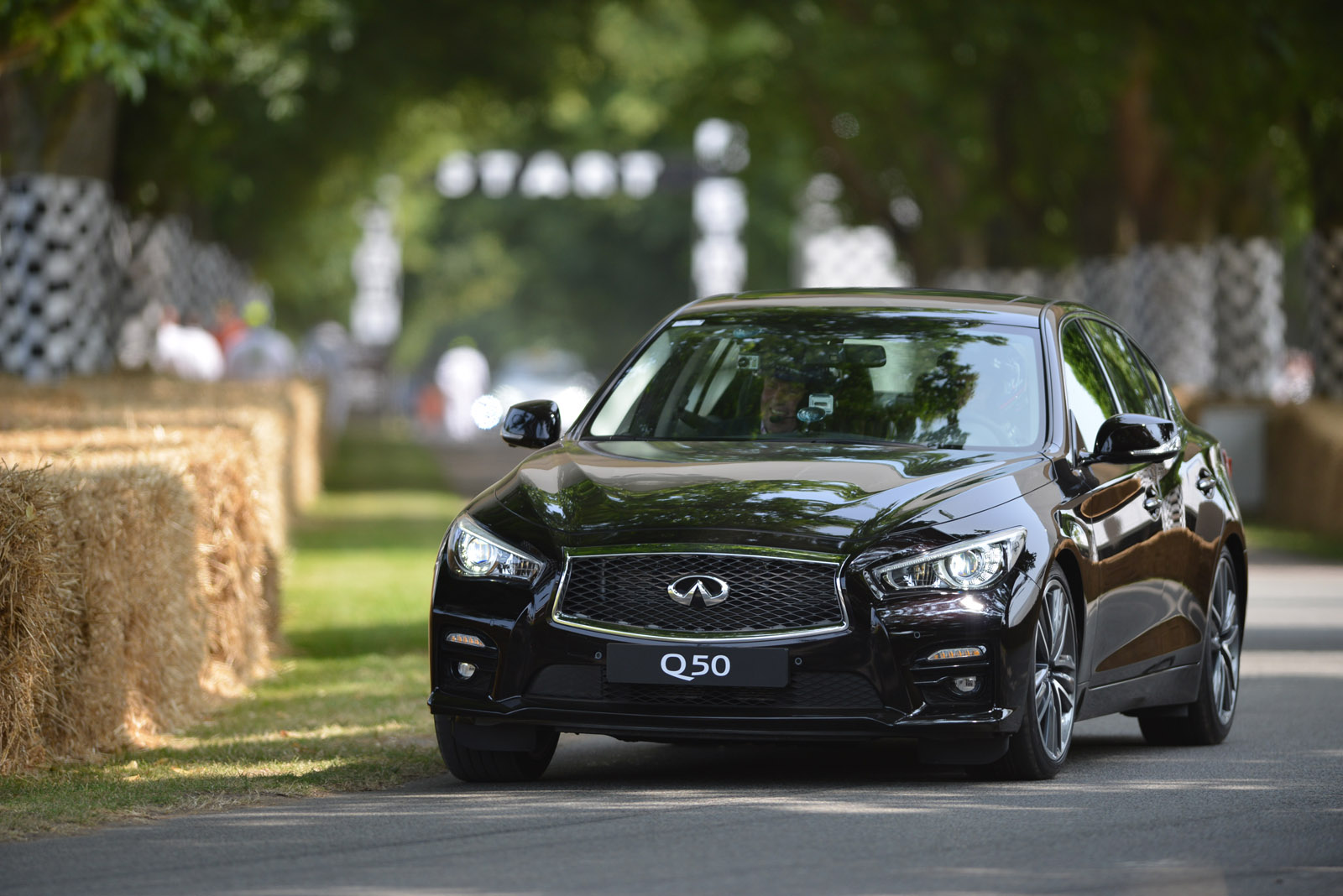 Infiniti Q50 at Goodwood Festival of Speed