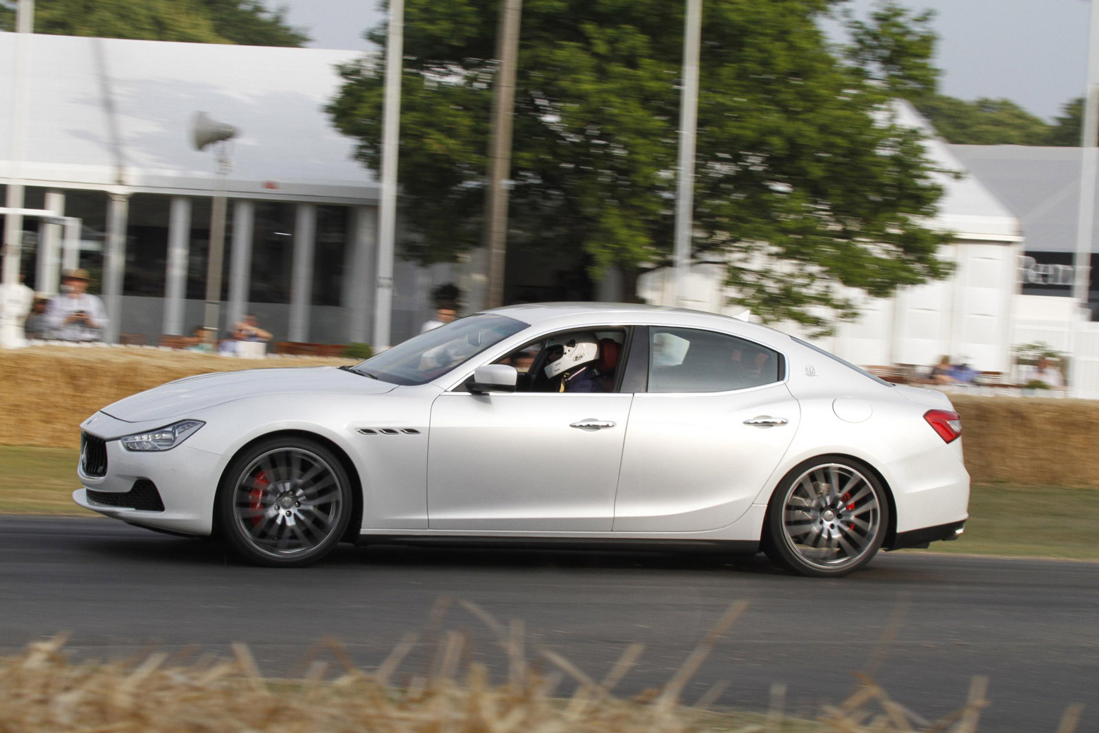 Maserati Ghibli at Goodwood Festival of Speed