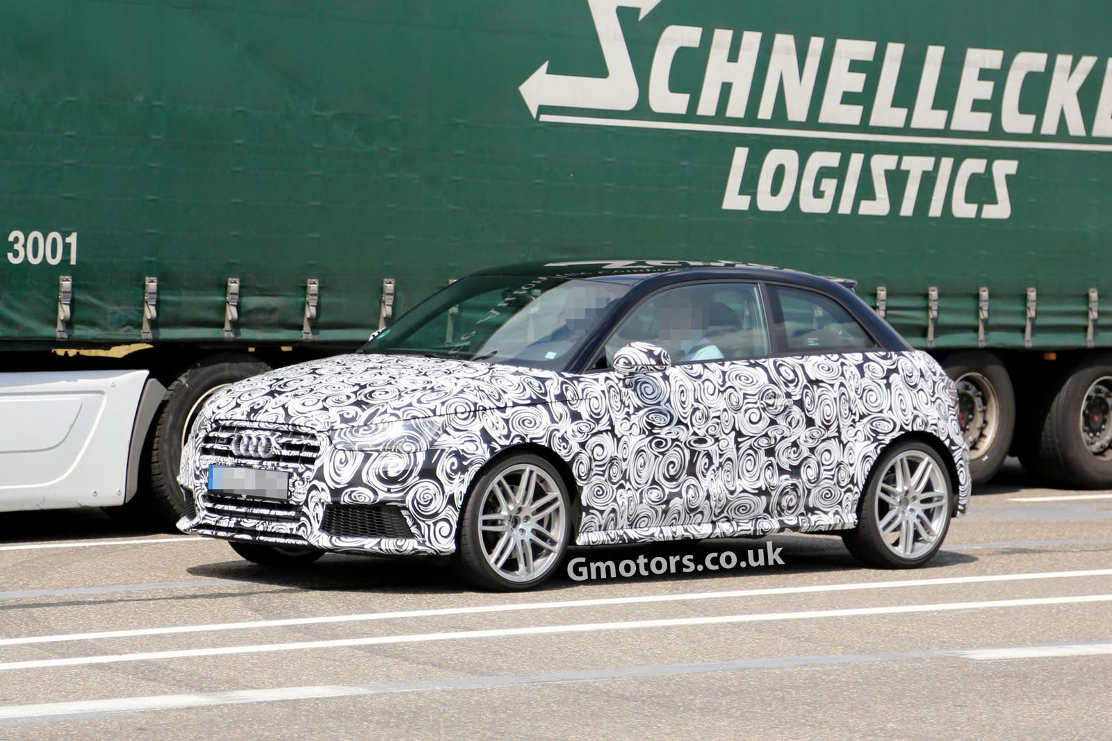 we have the very first spy shots of the new 2014 Audi A1/S1 Facelift