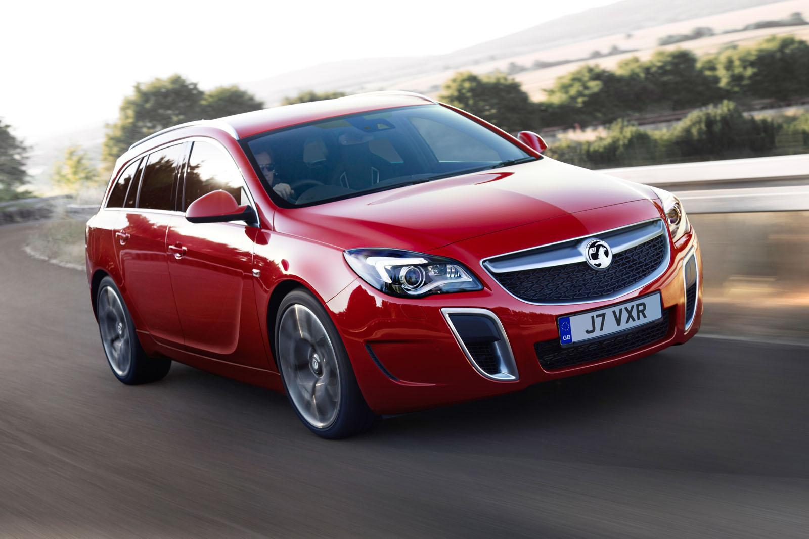 Vauxhall Insignia VXR SuperSport facelift