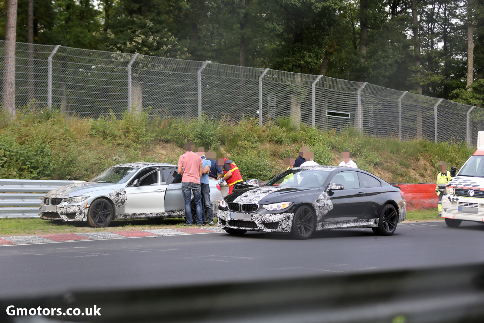 2014 BMW M3 crash 5