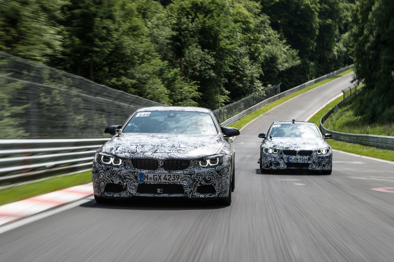2014 BMW M4 and M3 prototypes 4