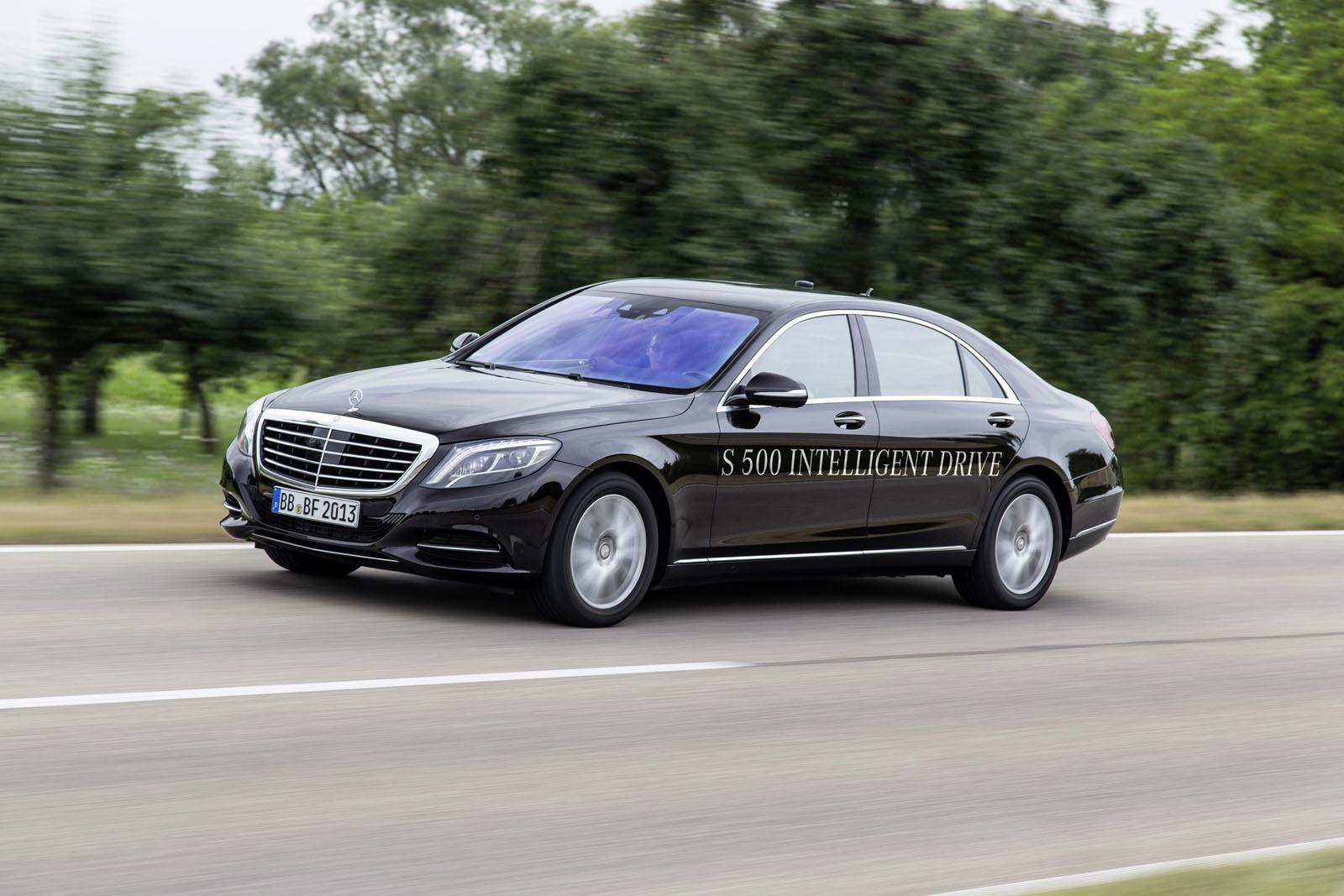 Mercedes S500 Intelligent Drive prototype 2