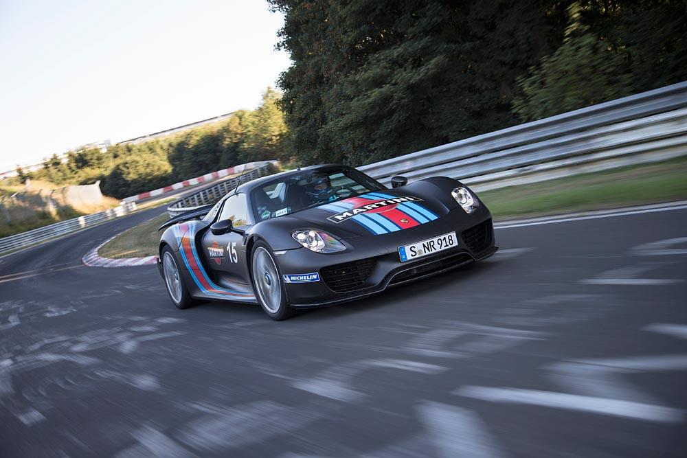 Porsche 918 Spyder on the Nürburgring 2