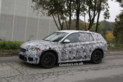 2015 BMW X1 prototype 3