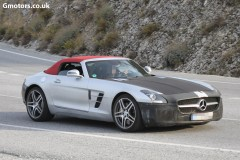 2015 Mercedes SLS AMG GT Roadster facelift