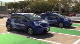 self parking Honda Fit EV