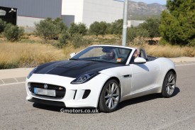 2014 Jaguar F-Type Roadster with a new 4-cylinder engine