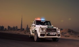 Brabus B63S - 700 Widestar for Dubai police 9
