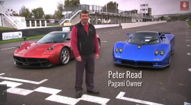 Peter Read and his Paganis