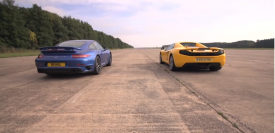 911 Turbo S vs 12C Spider