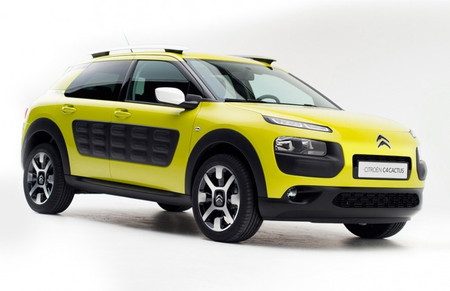 Citroën C4 Cactus production model