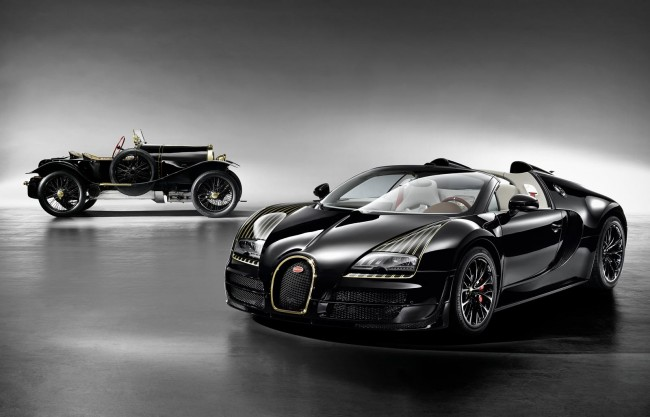 Bugatti Veyron Grand Sport Vitesse Black Bess Legends Edition