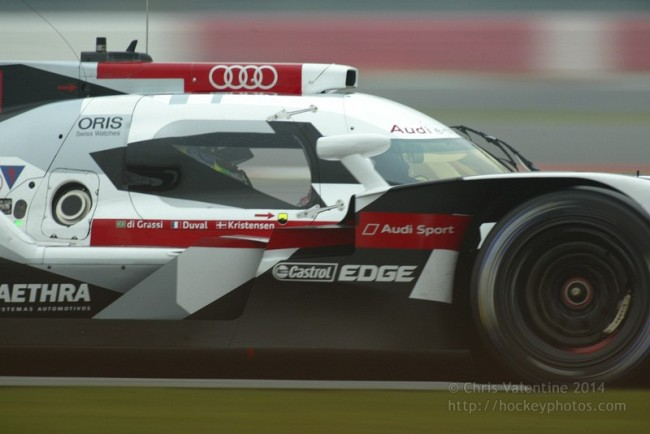 One of the two Audi LMP1s was forced to retire