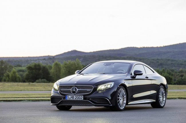 2015 Mercedes-Benz S 65 AMG Coupe