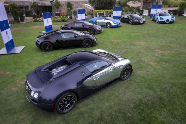 Bugatti Veyron Les Legends Editions