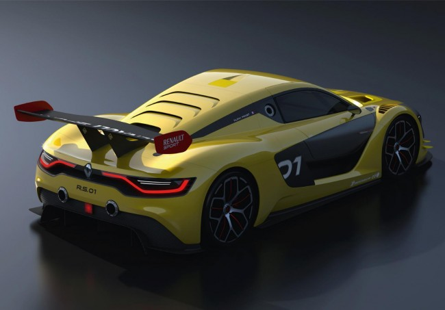 Renaultsport R.S. 01 race car 12