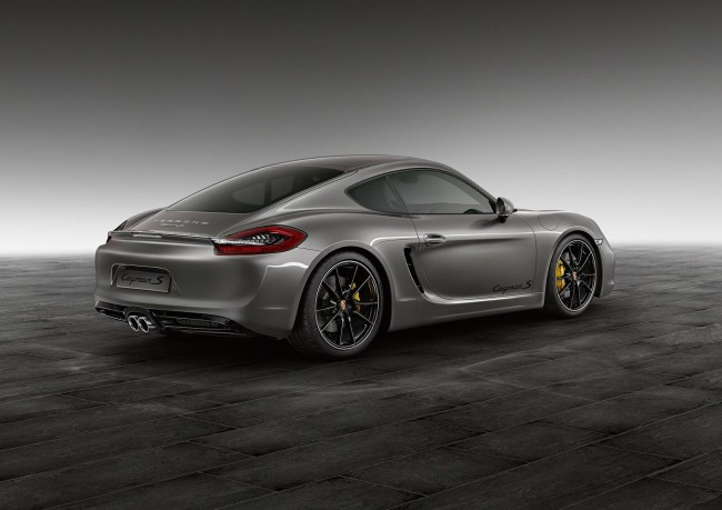 Agate Grey Cayman S by Porsche Exclusive 2