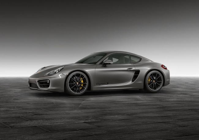 Agate Grey Cayman S by Porsche Exclusive