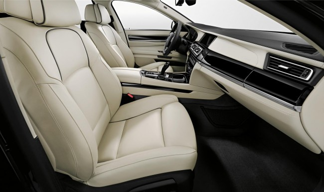 BMW 7 Series Individual Final Edition interior