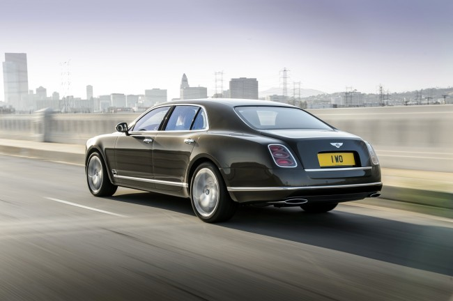 New Bentley Mulsanne Speed 2