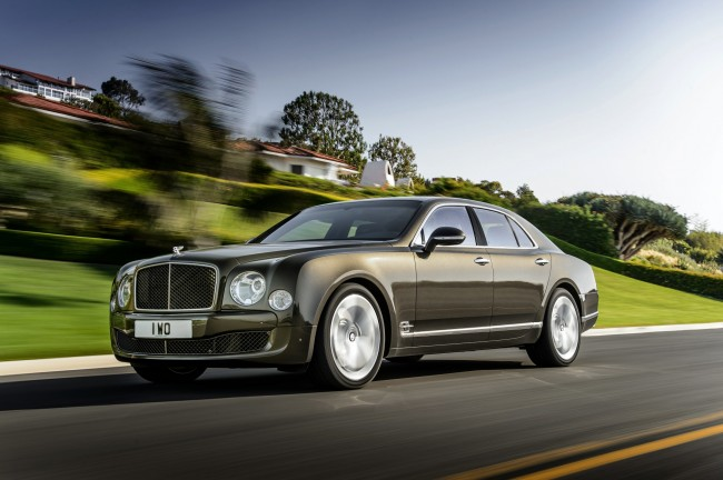 New Bentley Mulsanne Speed 6