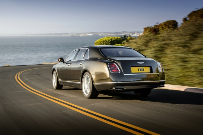 New Bentley Mulsanne Speed 7
