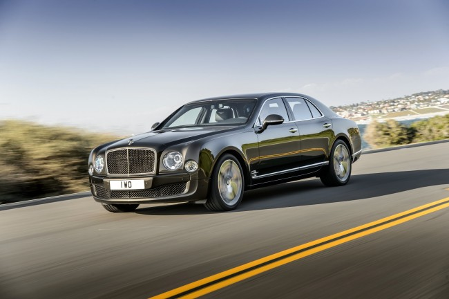 New Bentley Mulsanne Speed 8