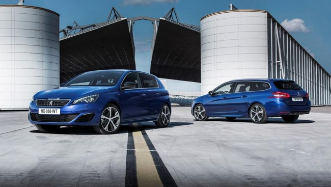 Peugeot 308 GT SW and hatch