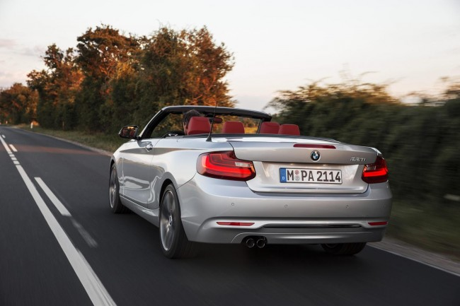 2015 BMW 2 Series Convertible 12