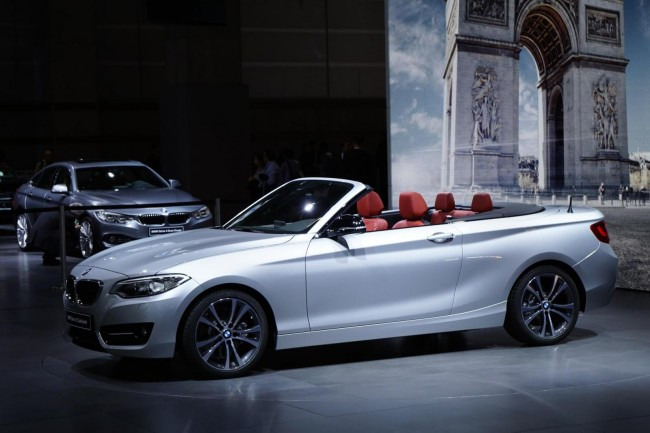 2015 BMW 2 Series Convertible 4