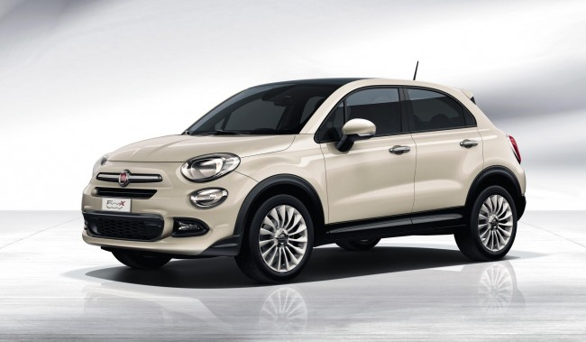 Fiat 500X front side