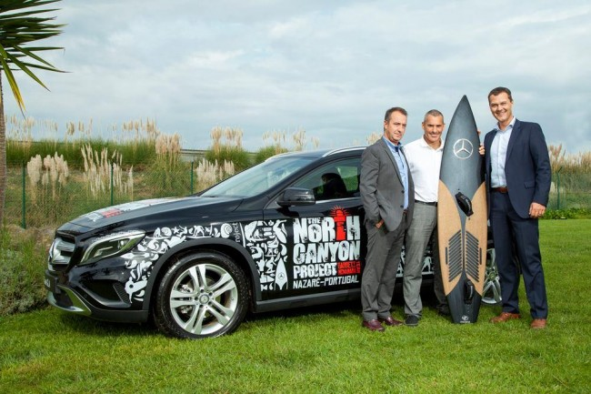 Mercedes surfborad for Garret McNamara 2