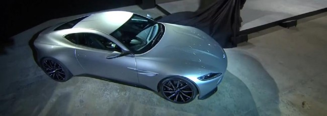 Aston Martin DB10 top view