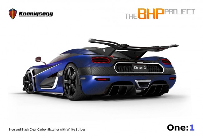 Koenigsegg One-1 RHD for The BHP Project 2