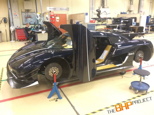 Koenigsegg One-1 RHD for The BHP Project 6