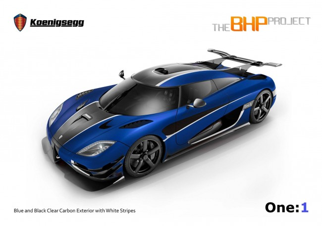 Koenigsegg One-1 RHD for The BHP Project